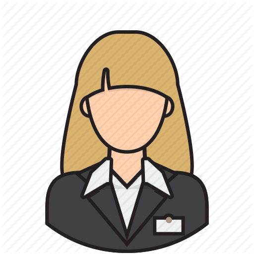 Airport clipart receptionist. Free download best