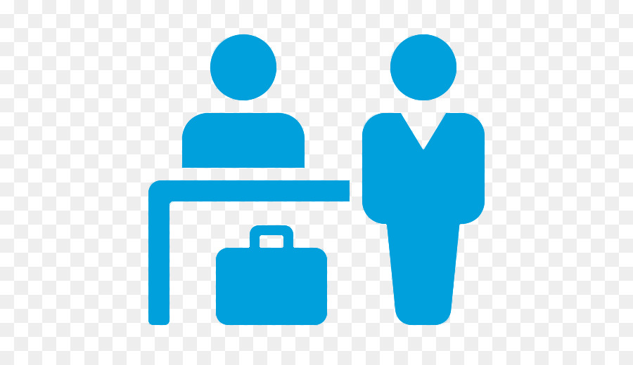 Hotel check in computer. Airport clipart receptionist