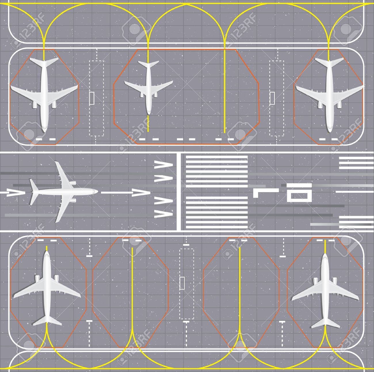 Station . Airport clipart runway