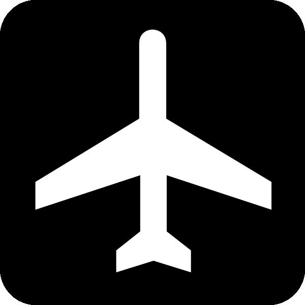Map symbol plane clip. Airport clipart simbol