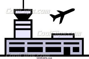 Airport clipart simbol. Symbol vector clip art