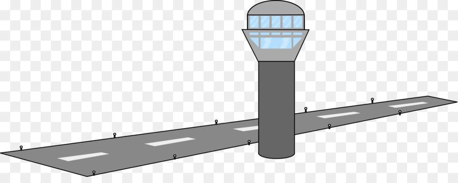 Airplane runway landing clip. Airport clipart transparent