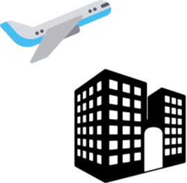 Airport clipart transparent. Luton guide hotels