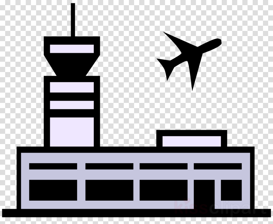 Airplane black text . Airport clipart transparent