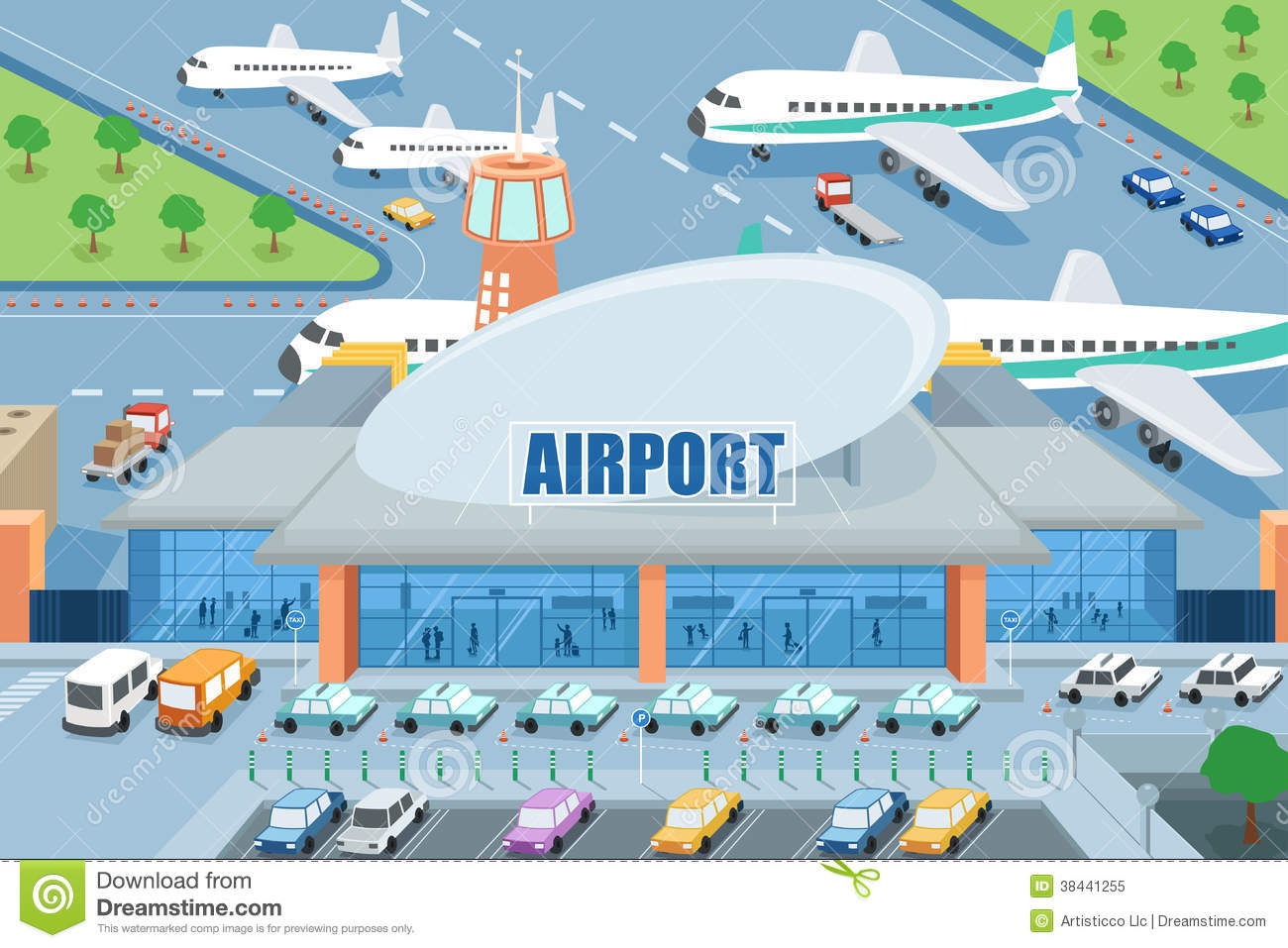 Airport clipart. Free panda images airportclipart