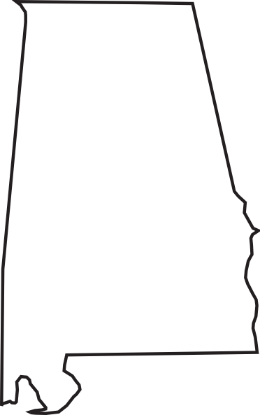 Alabama clipart. Font a for silhouette