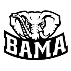 Alabama clipart black and white. Font a for silhouette