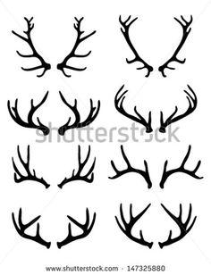 Alabama clipart deer antler. Initial antlers cricut explore