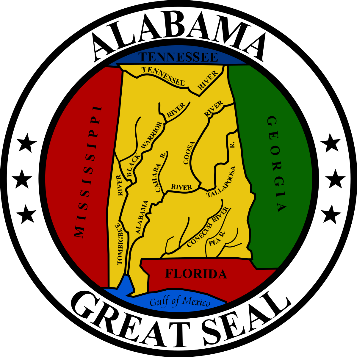 Democracy clipart bicameral legislature. Seal of alabama wikipedia