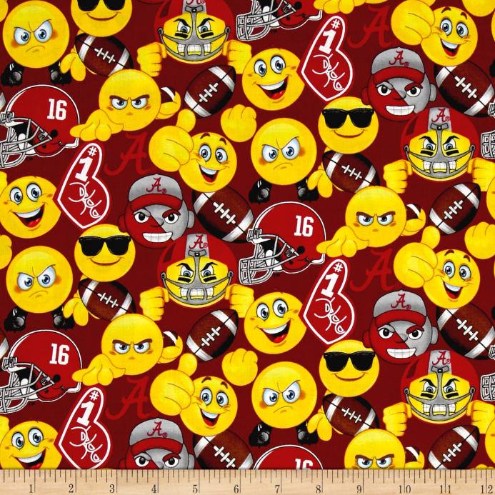 Alabama clipart emoji. Collegiate cotton university of