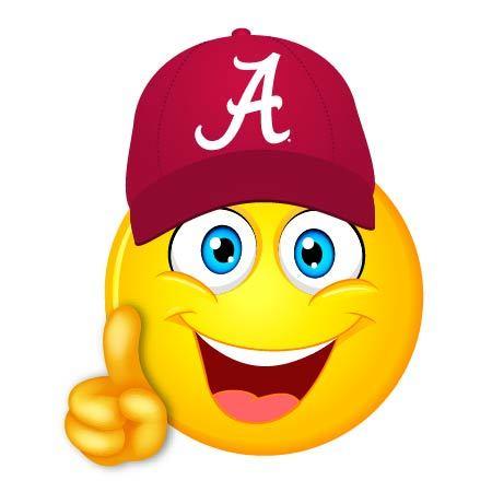 Alabama clipart emoji.  boy vinyl decal