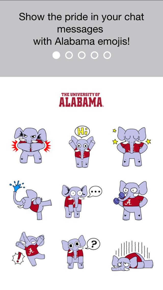 Apps screenshot . Alabama clipart emoji