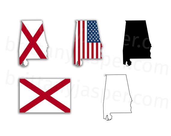 State svg vector clip. Alabama clipart flag alabama