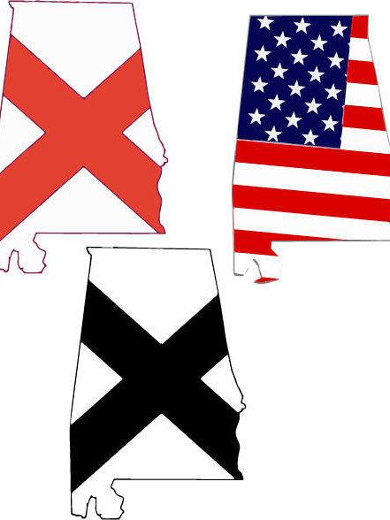 Alabama clipart flag alabama.  in svg design