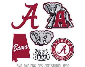 Logo etsy university of. Alabama clipart font
