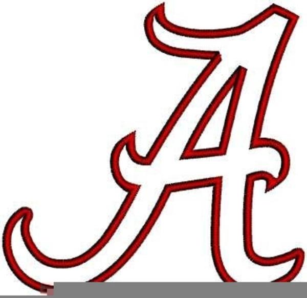 Alabama clipart font. Free university of images