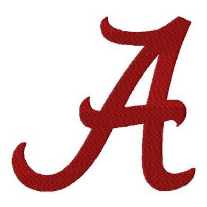 Alabama clipart font. A for silhouette photo