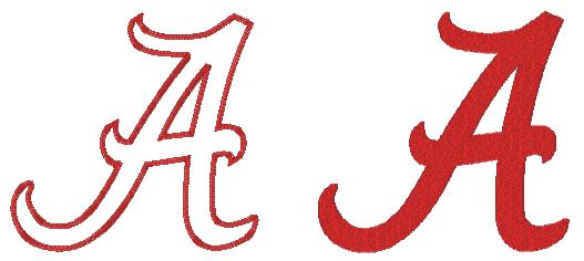 Alabama clipart font. Football clip art library