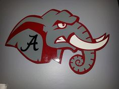 Alabama clipart head. Elephant mascot images of
