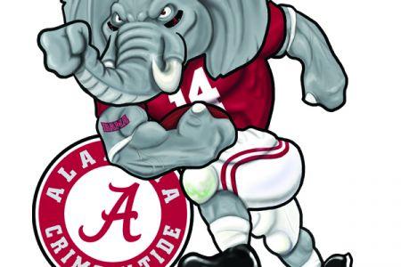 Alabama clipart illustration. Al collection football clip