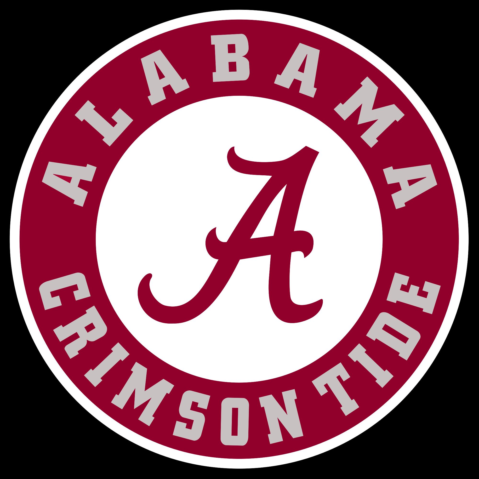 Crimson tide logo . Football clipart alabama