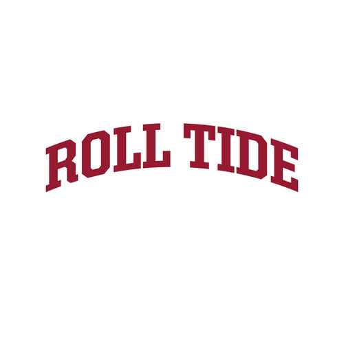 White t shirt images. Alabama clipart roll tide