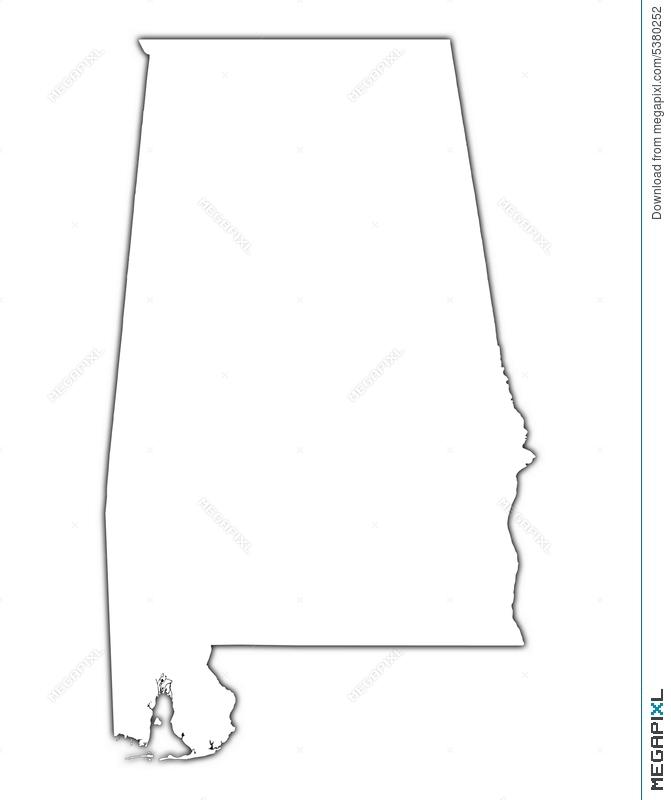 Alabama shape
