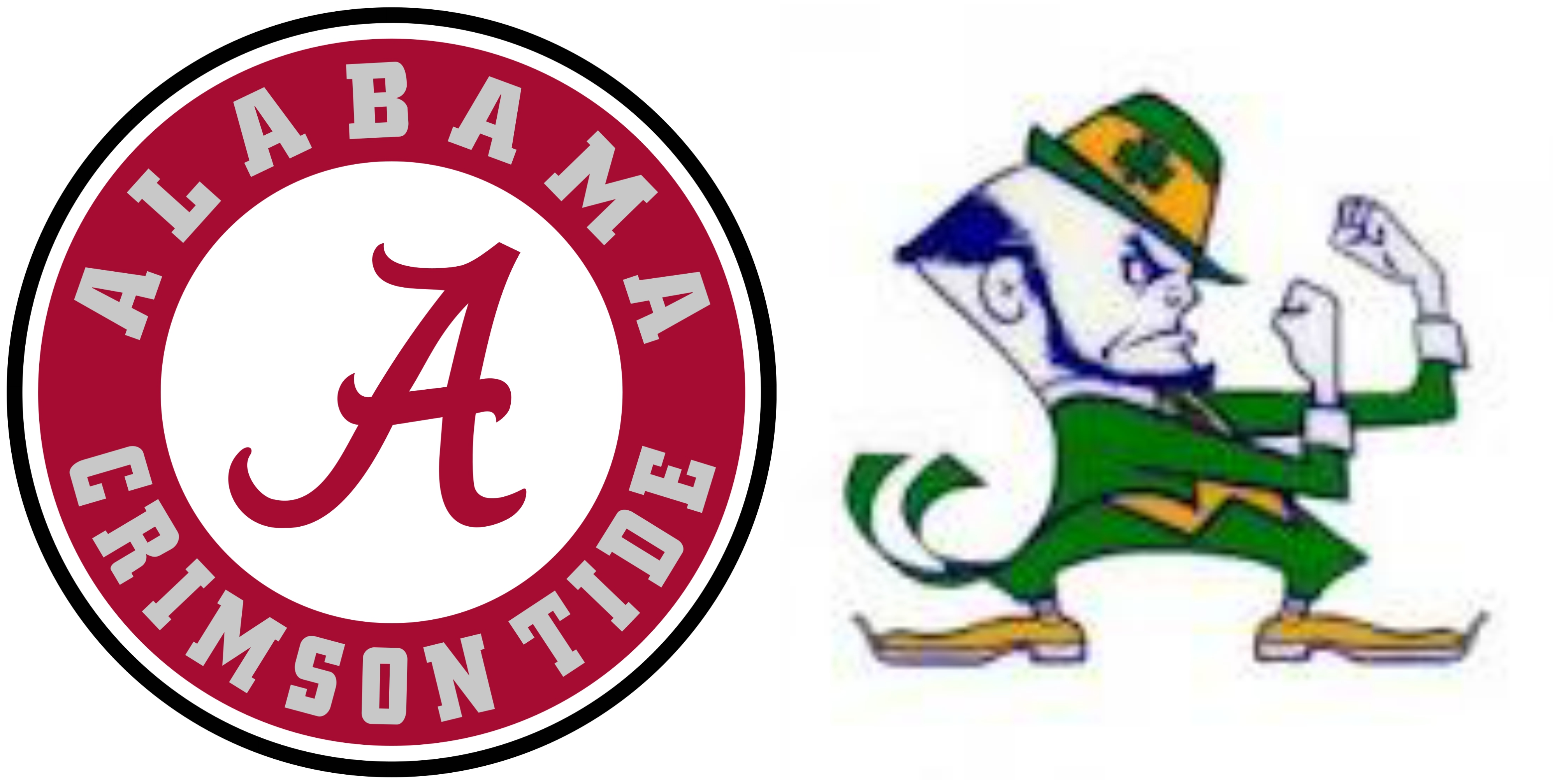 Notre dame agree on. Alabama clipart tribe