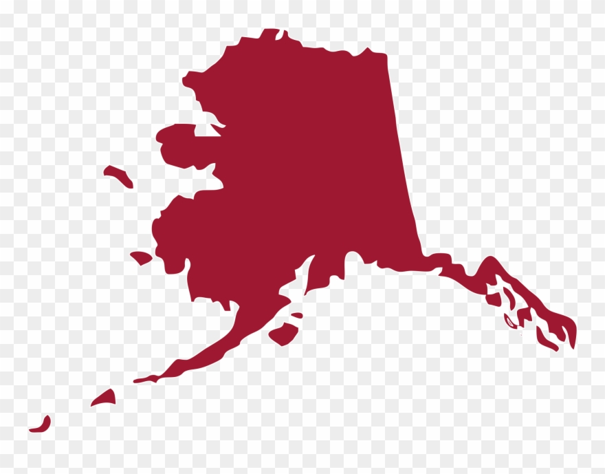 Identify this state . Alaska clipart