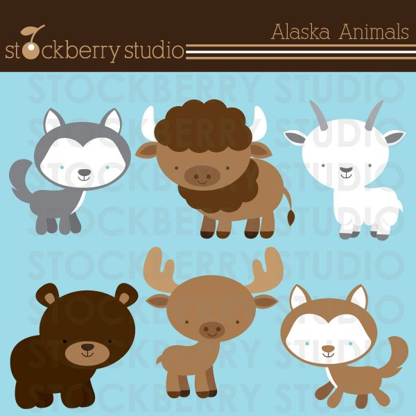 best digital clip. Alaska clipart animal alaska