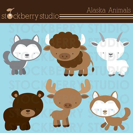 Animals personal and commerical. Alaska clipart animal alaska