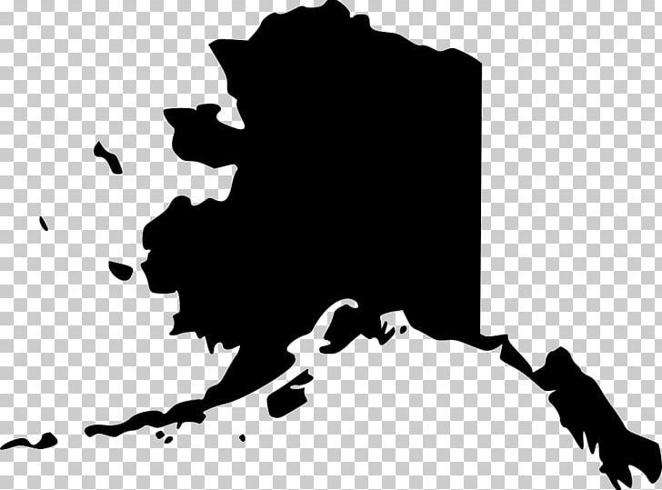 Flag of map png. Alaska clipart black and white
