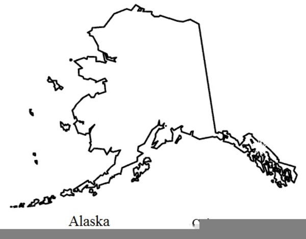Alaska clipart black and white. Flag free images at