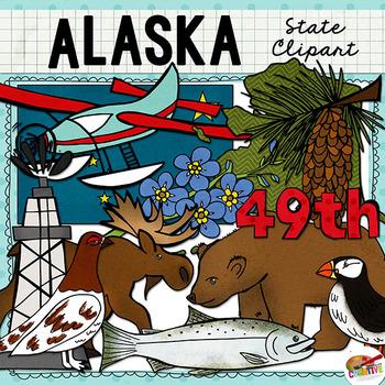 Alaska clipart clip art. State