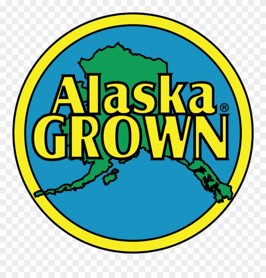 Alaska clipart color. Grown logo