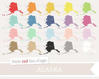 Alaska clipart cute. Etsy