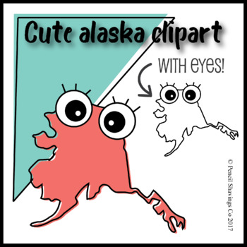 Alaska clipart cute. With eyes by pencil