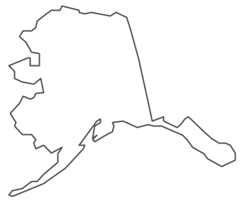 Alaska clipart drawing. Map bnhspine com geo