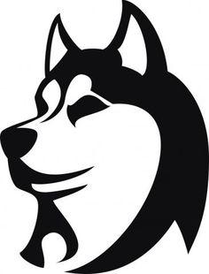 Alaska clipart husky. Dog vector image sketch