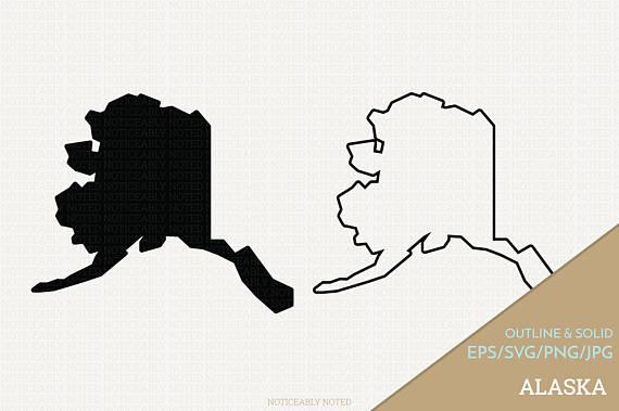 Alaska clipart illustration. Vector state ak clip