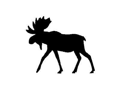 Alaska clipart moose alaska. Silhouette at getdrawings com