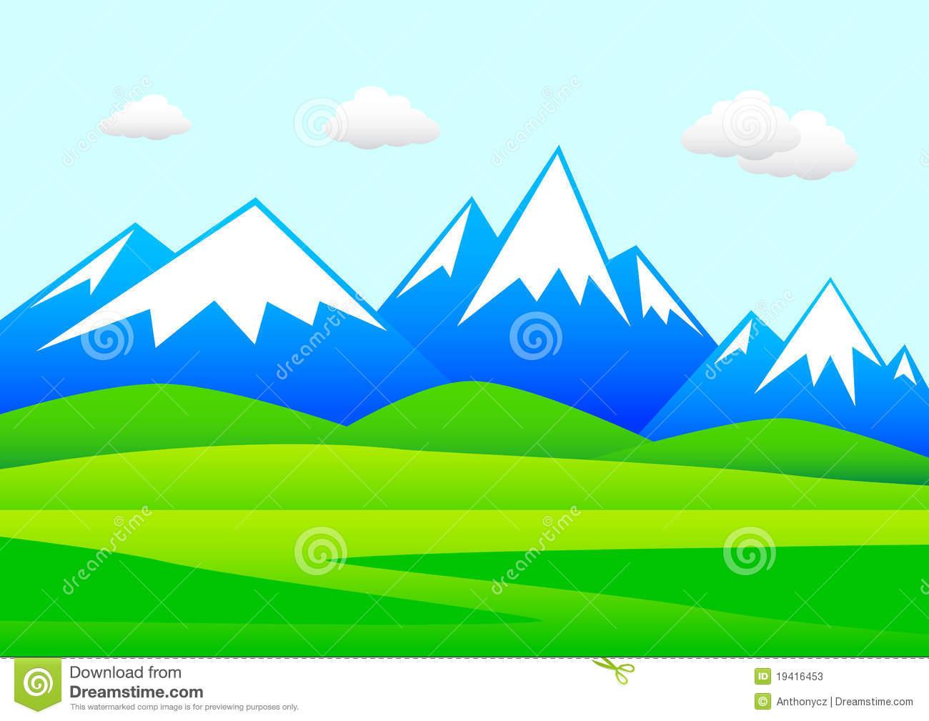 Mountain scene x free. Alaska clipart mountains