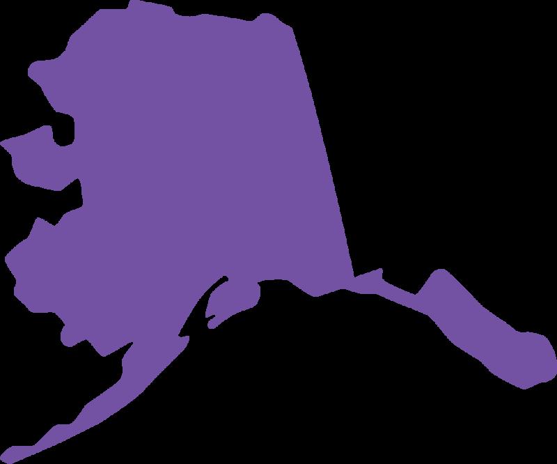 State . Alaska clipart shape