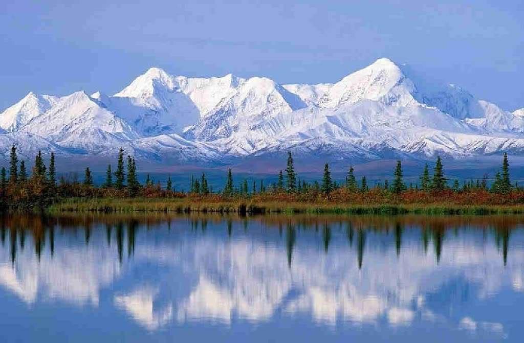 Snowy mountains beautiful pictures. Alaska clipart snow mountain