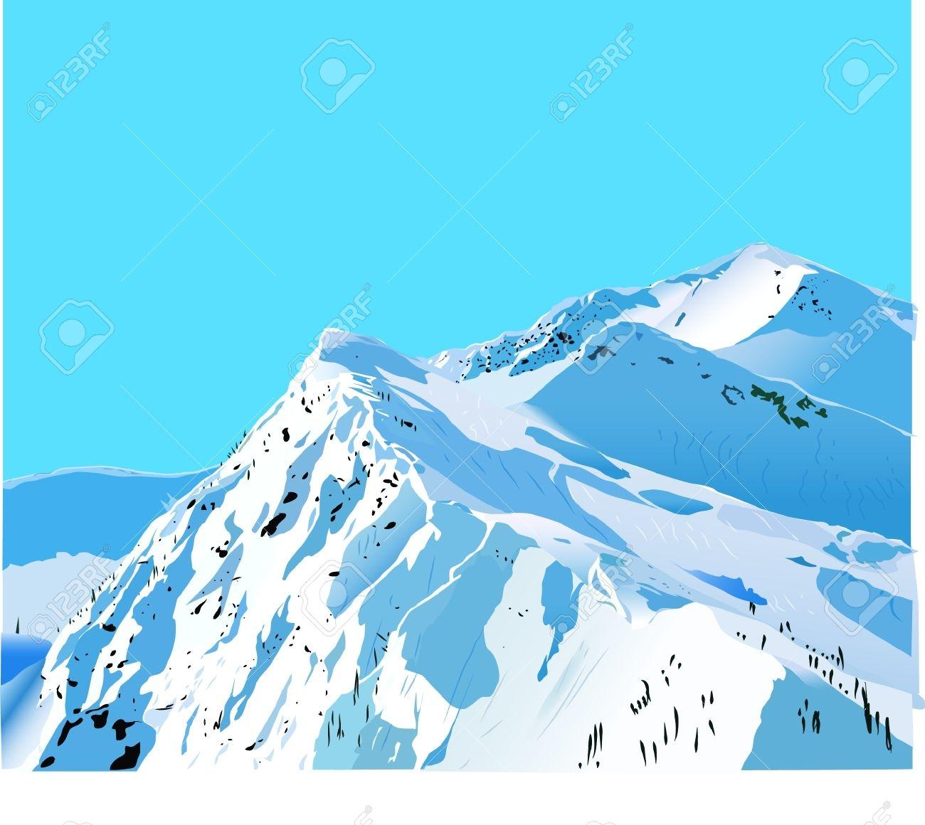 Alaska clipart snow mountain.  collection of high
