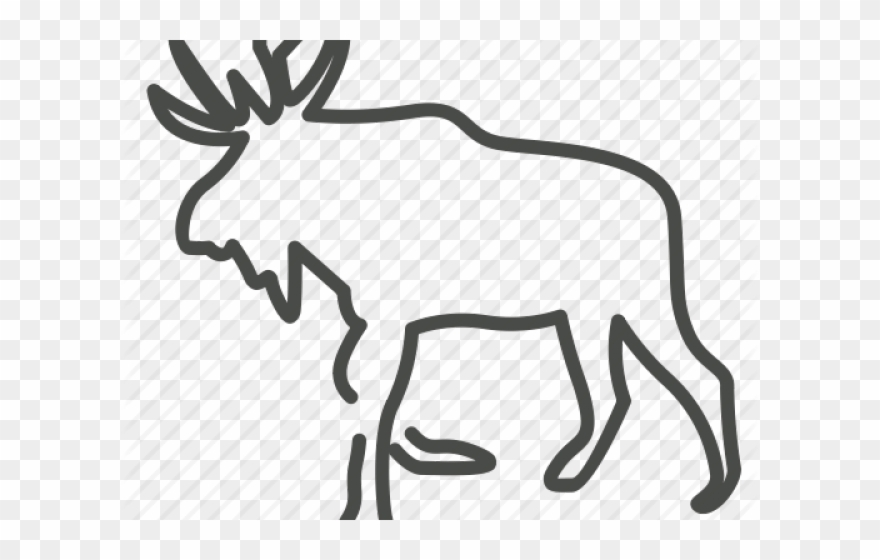 Alaska clipart wildlife alaska. Elk clip art png