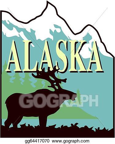 Eps illustration vector gg. Alaska clipart wildlife alaska