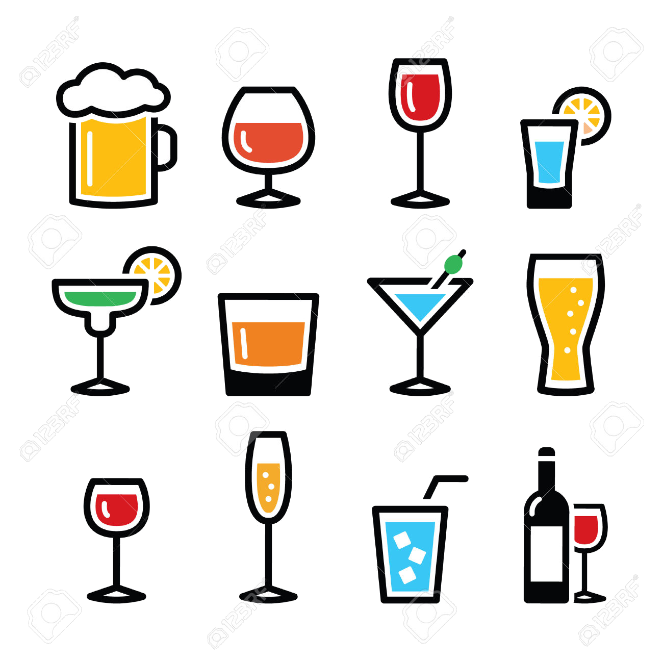 Alcohol clipart. Free best on transparent