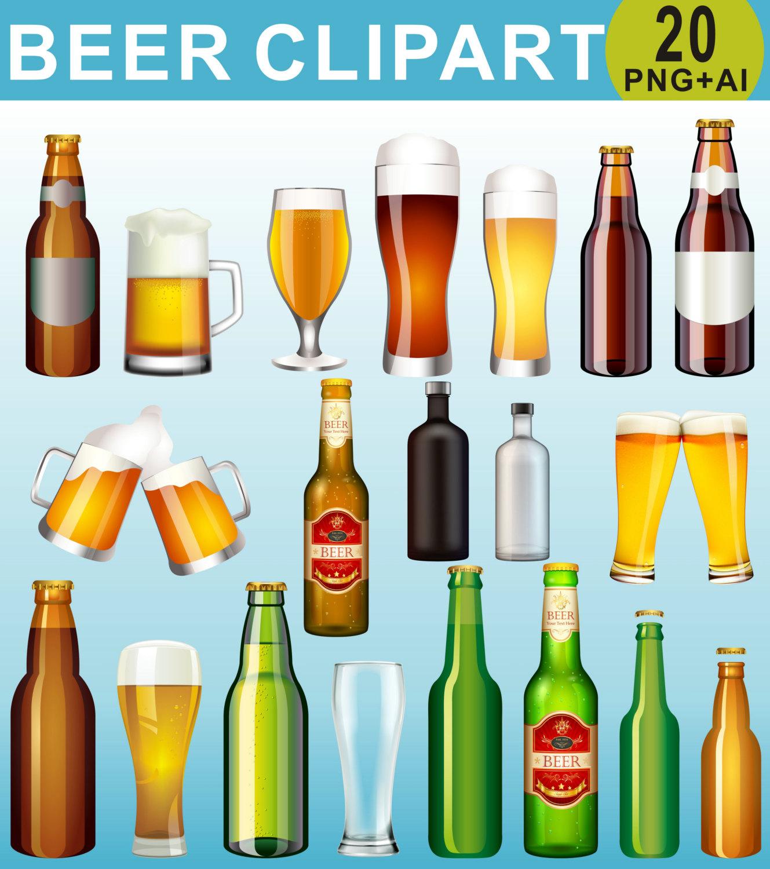 Drinks bottle clip art. Beer clipart alcohol