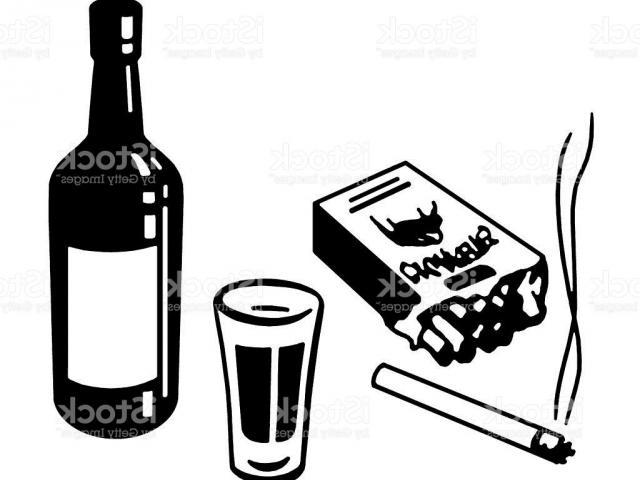 Free on dumielauxepices net. Cigarette clipart cigarette alcohol